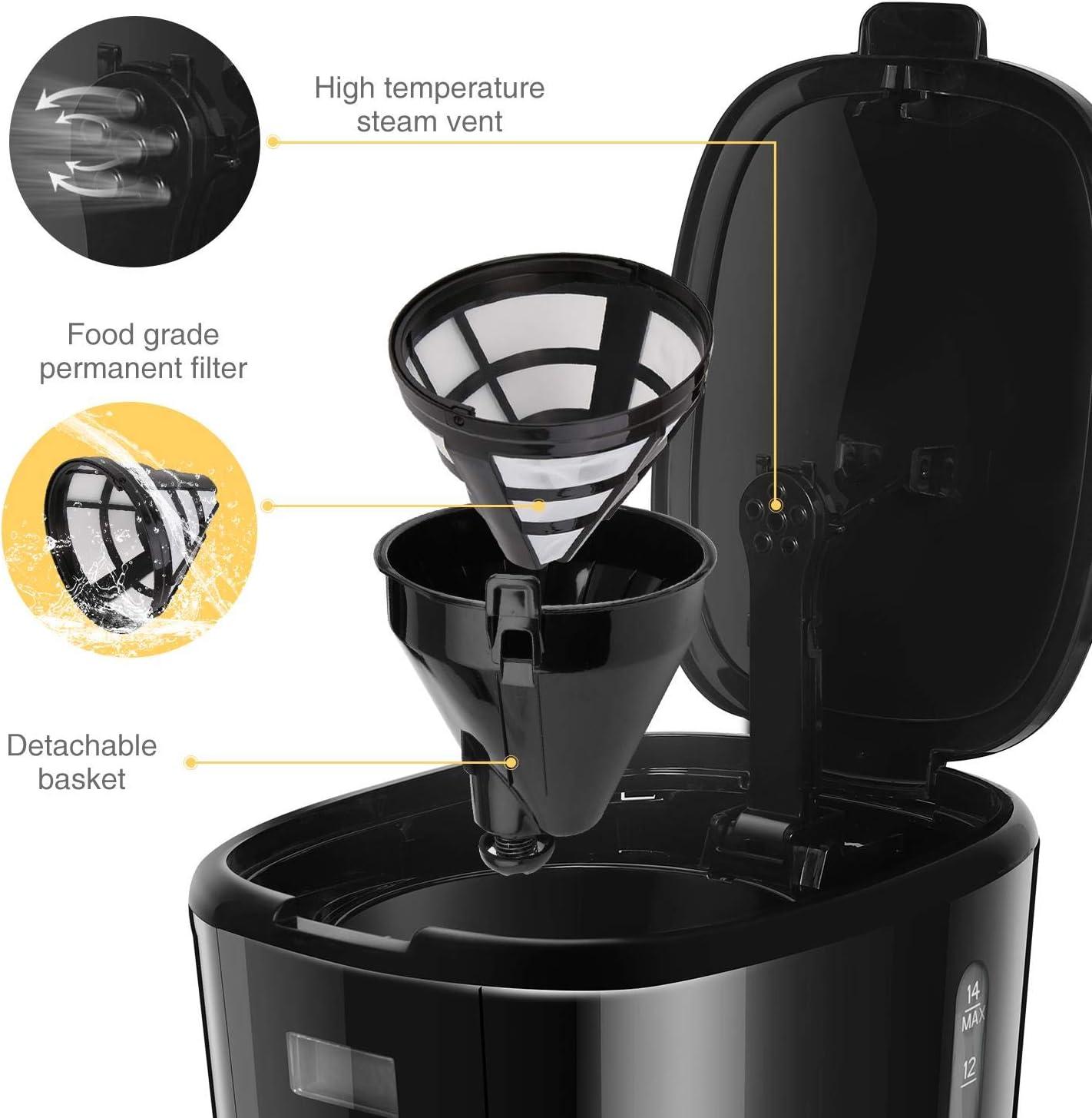 Taylor swoden Macarons – Máquina de café, 900 W con filtro ...