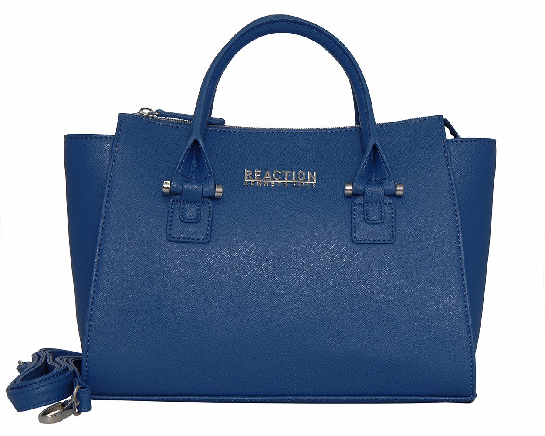 Kenneth Cole Reaction KN1550 Magnolia Handbag Top Handle Messenger Crossbody Shoulder Bag (SEA GLASS)