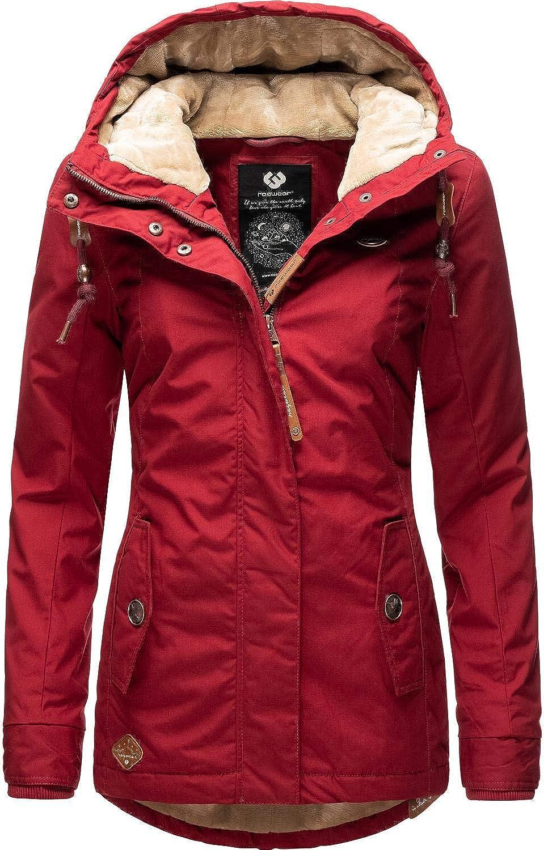 5 Farben XS-XL Ragwear Damen Jacke Winterjacke YM-Monade vegan hergestellt