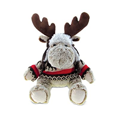 Puzzled Moose Soft Stuffed Plush Cuddly Animal Toy - Wild Animals / Animals Collection - Unique Huggable Loveable New Friend Gift - Item #5768: Toys & Games