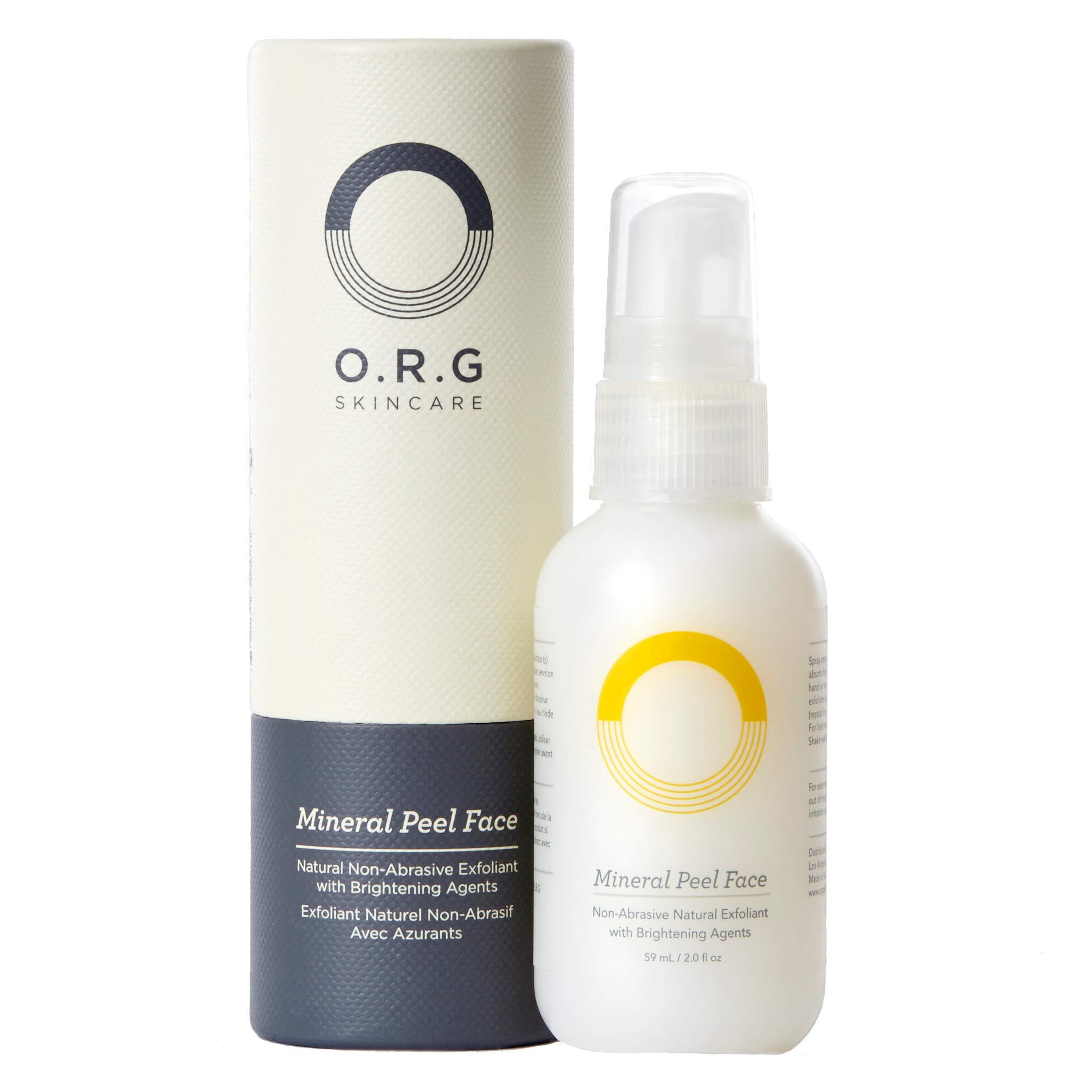 O.R.G. Skincare Mineral Peel Face, 2 oz by O.R.G. Skincare
