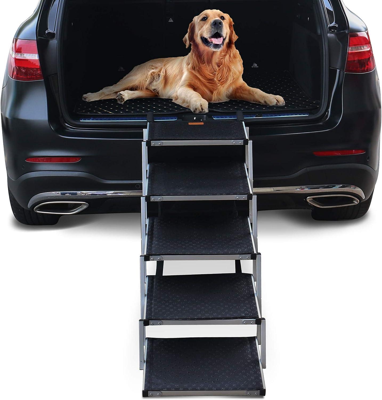 escalera 5 escalones perros Niubya Dog soporta 68 a 90kg