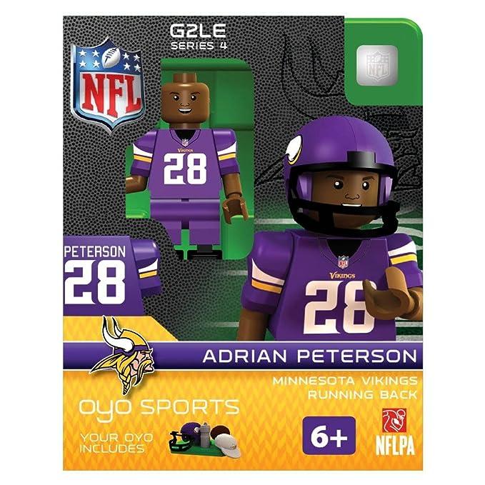ba42b59c79ab1 Amazon.com   OYO NFL Minnesota Vikings Adrian Peterson Gen 2 Mini Figure