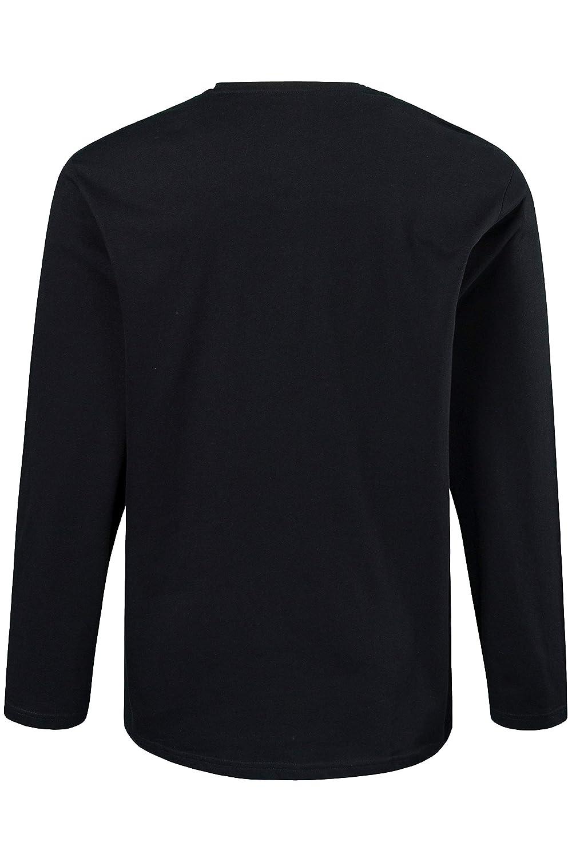JP 1880 Mens Henley Long Sleeve Top
