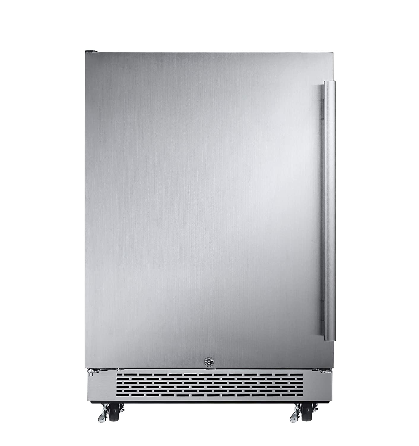Avallon AFR241SSODLH 5.5 Cu Ft 24 Outdoor Built-in Refrigerator – Left Hinge