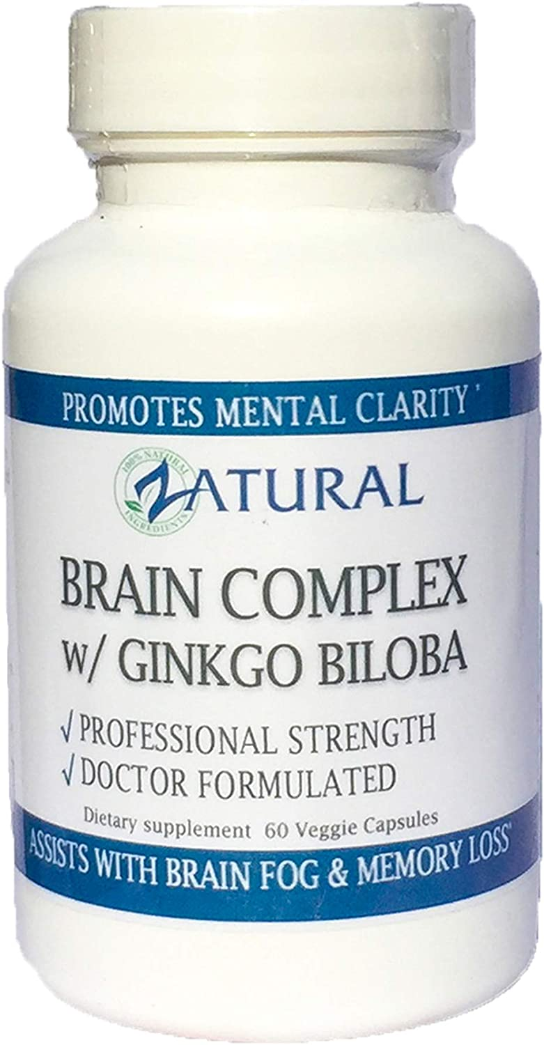 Best Brain Supplement with Ginkgo Biloba – Buy 3 Bottles Get One Free