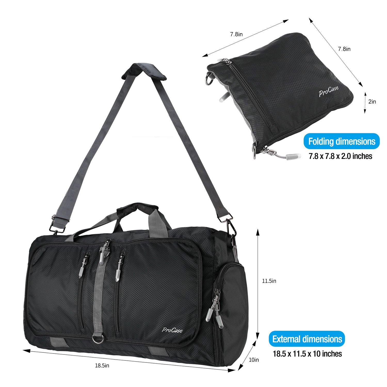 Amazon.com  ProCase Foldable Travel Duffel Bag 841d8bbe643f1