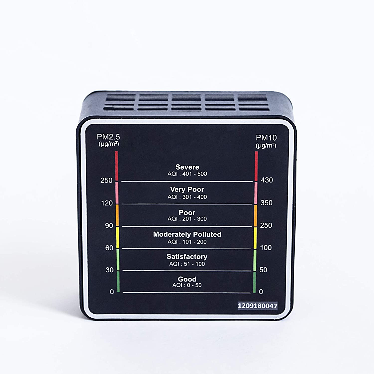 Airveda PM2 5, PM10 High Accuracy Smart Air Quality Monitor - With Laser  Sensor, Wi-Fi Enabled, App-Enabled