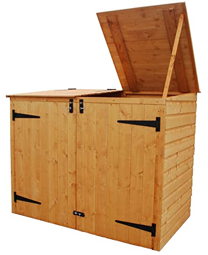 Awesome Bosmere Rowlinson A042 Garbage Bin Storage Shed, 69u0026quot; ...