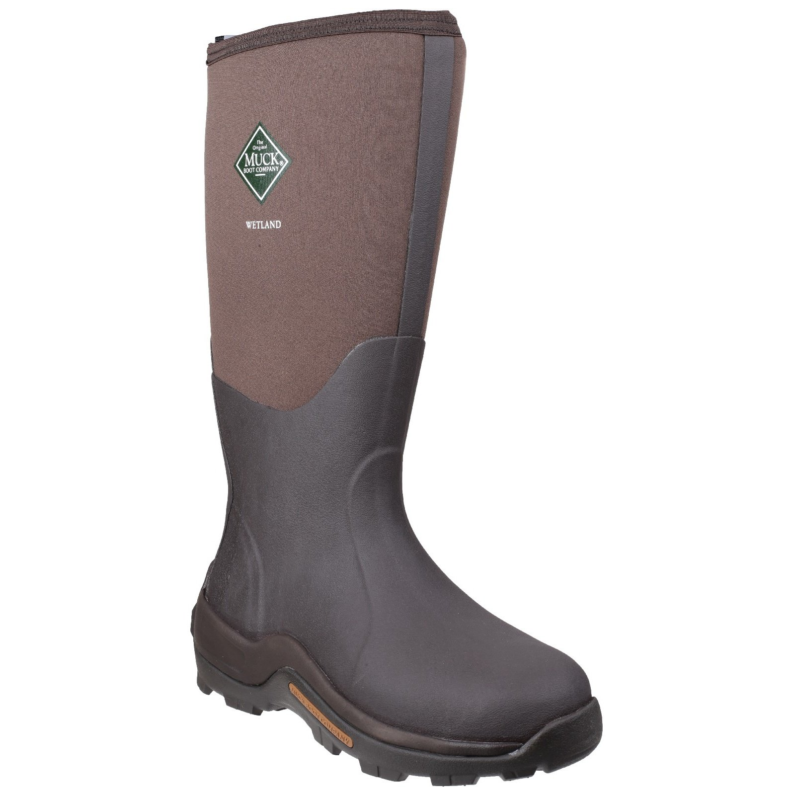 Muck Boot Unisex Wetland Hi Wellington Boots (7 M US / 8 W US) (Bark) by Muck Boot