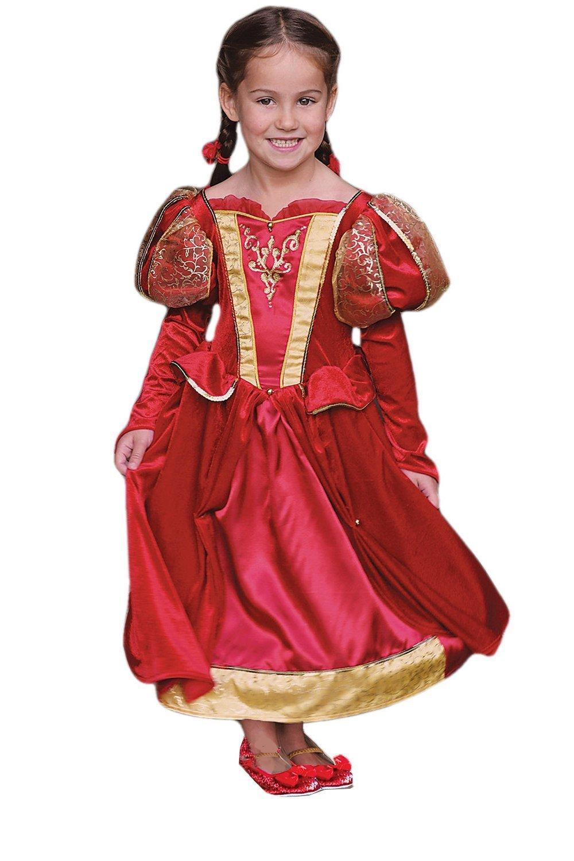 orden en línea Girls Medieval Medieval Medieval Queen Fancy Dress Costume - 9-11 Years by Dress Up By Design  punto de venta barato