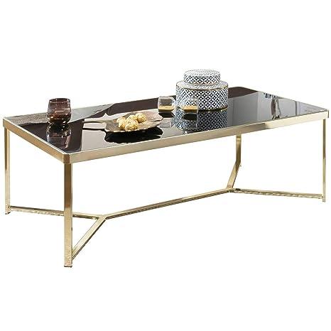 KS-Furniture Tara - Mesa de Centro (120 x 60 cm, Metal y ...
