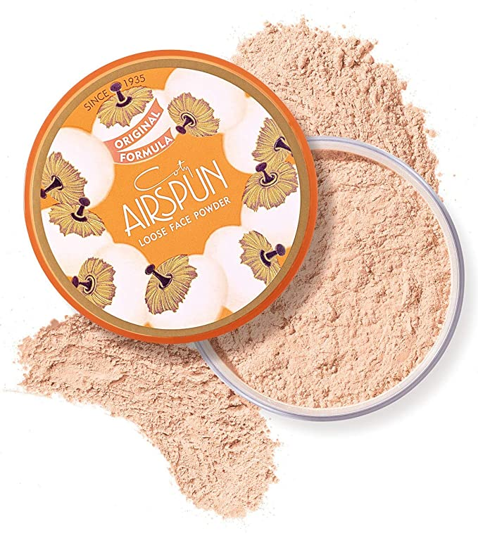 Coty Airspun Loose Face Powder 2.3 Ounce Honey Beige Light Peach Tone Loose Face Powder, for Setting or Foundation, Lightweight, Long Lasting, Pack of 1   Amazon