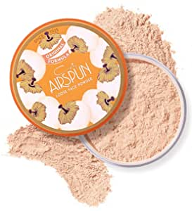 Coty Airspun Loose Face Powder 2.3 oz. Honey Beige Light Peach Tone Loose Face Powder, for Setting or Foundation, Lightweight, Long Lasting