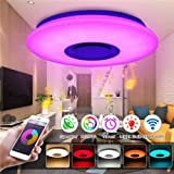 HOREVO Led Music Ceiling Light with Bluetooth
