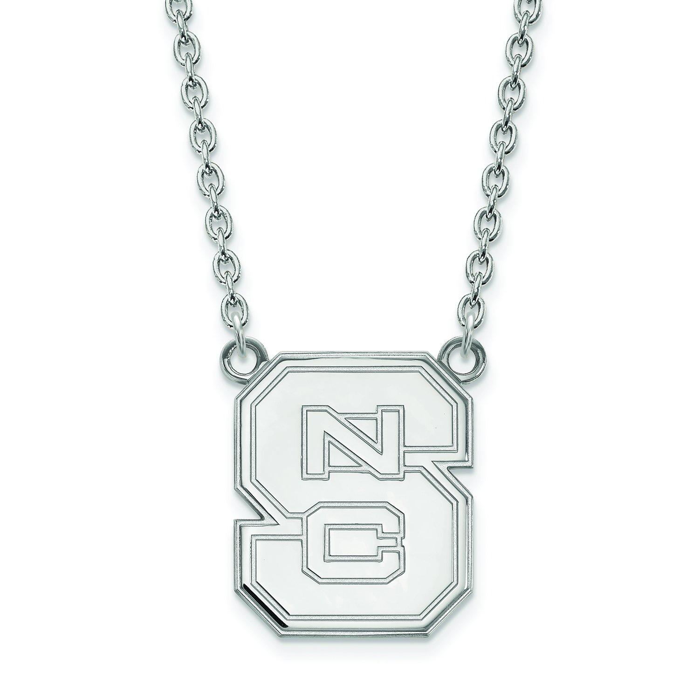 NC状態Large (3 / 4インチ) ペンダントW/ネックレス(スターリングシルバー)   B01IYEUE36