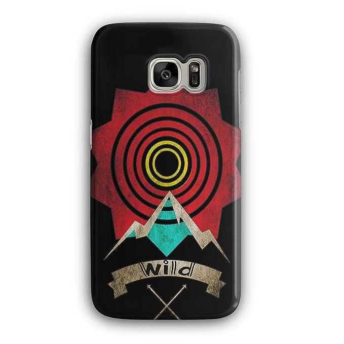 huge inventory 661e9 8cf83 Amazon.com: Wild Target Art Fashion Sunny 3D Samsung Galaxy S7 Case ...