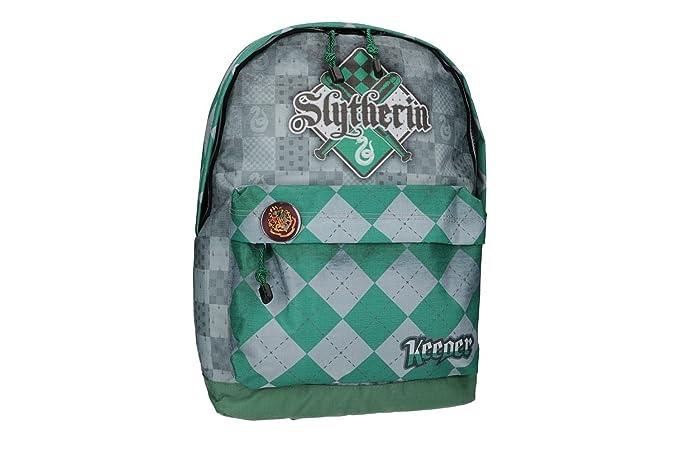 Mochila niño HARRY POTTER bolsa de ocio escolar verde VZ792: Amazon.es: Ropa y accesorios