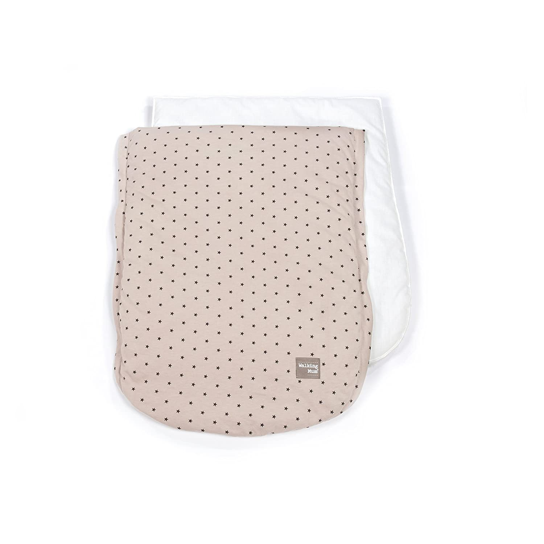 Funda universal para silla con sacos de abrigo Walking Mum Gaby color piedra