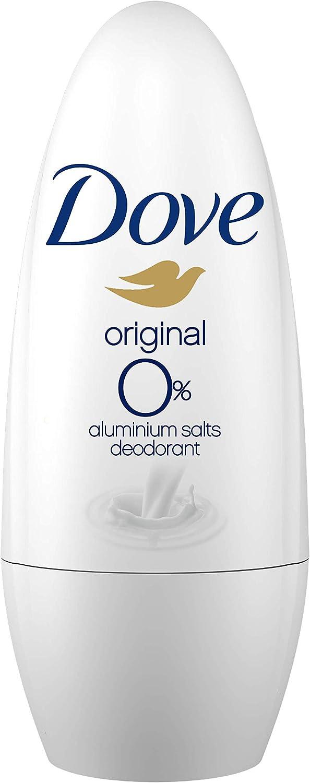 Dove 0% Desodorante Original Roll On - 50 ml