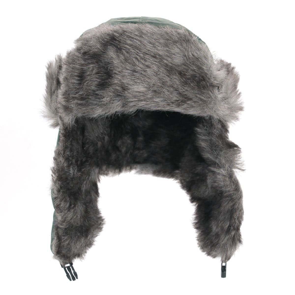 Yesurprise Trapper Warm Russian Trooper Fur Earflap Winter Skiing Hat Cap Women Men Windproof by Yesurprise (Image #2)