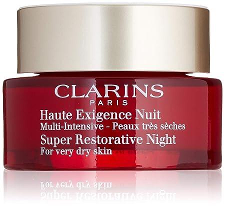 Clarins Women s Super Restorative Night Cream, Very Dry Skin, 1.6 Ounce