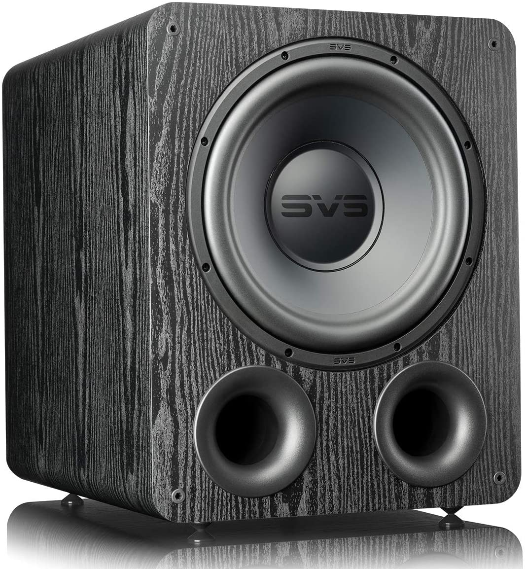 SVS PB-1000 Pro Subwoofer (Black Ash) | 12-in Driver, 325 Watt RMS, Ported Cabinet