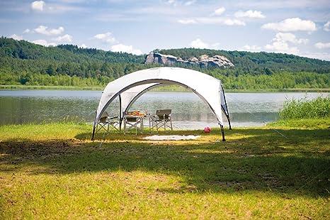 Coleman Event Shelter Carpa Cenador para Festivales, Jardín y Camping, Construcción Robusta de Mástiles, Gazebo con Protección Solar SPF 50+, Unisex, Gris-Verde, L: Amazon.es: Deportes y aire libre