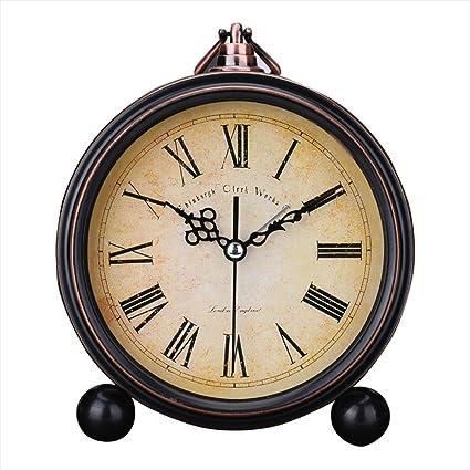 Amazoncom Kaimao Vintage Style Alarm Clock 5 13cm Silent