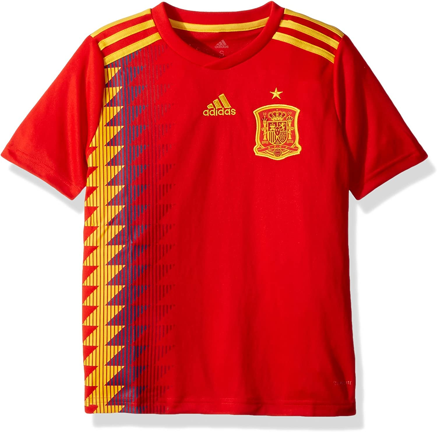 Spain Home Soccer Youth Jersey FIFA World Cup Russia 2018