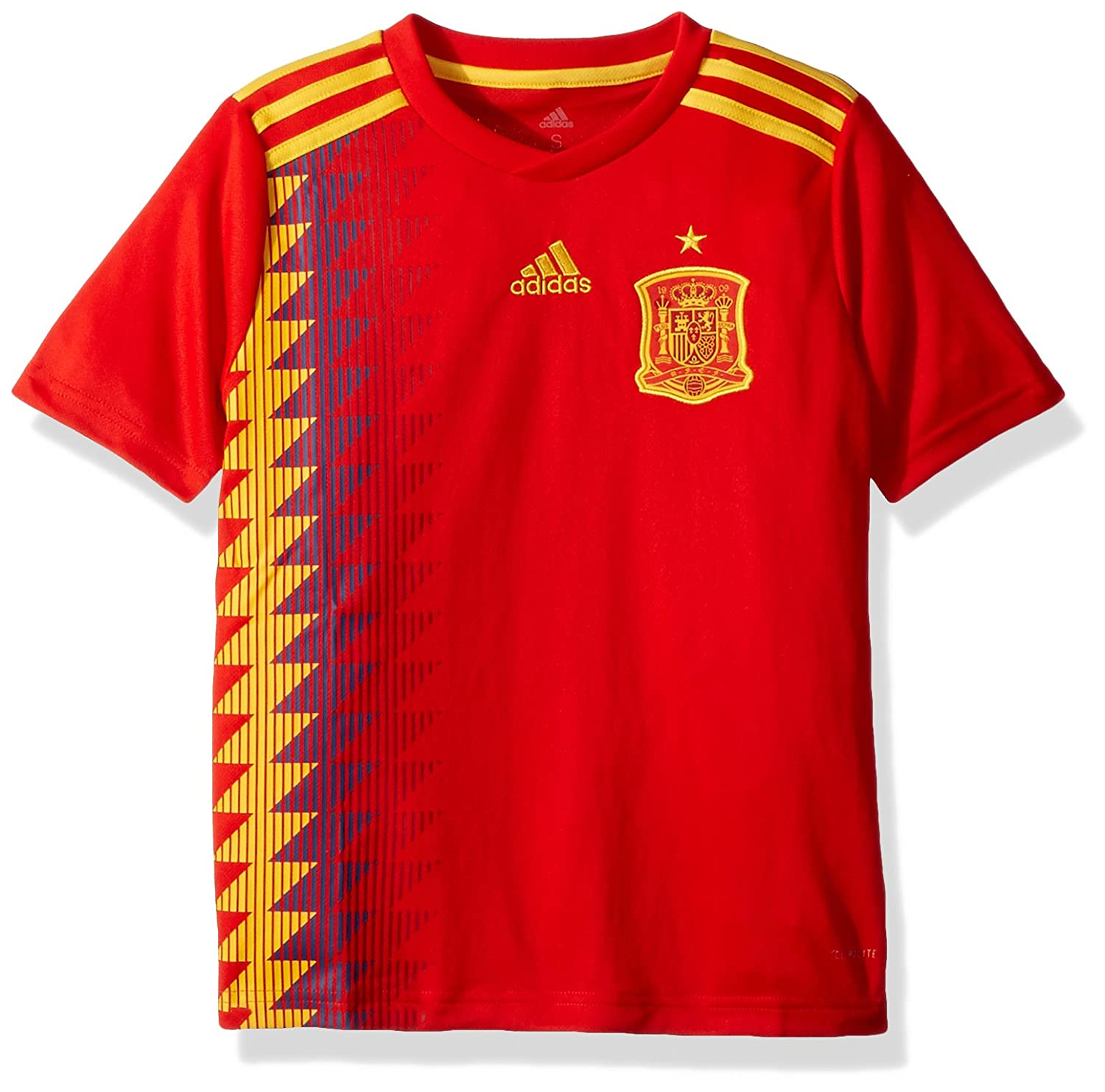27235a36f54 World Cup Soccer Teen-Boys adidas 2018 FIFA World Cup Youth Spain Home  Jersey