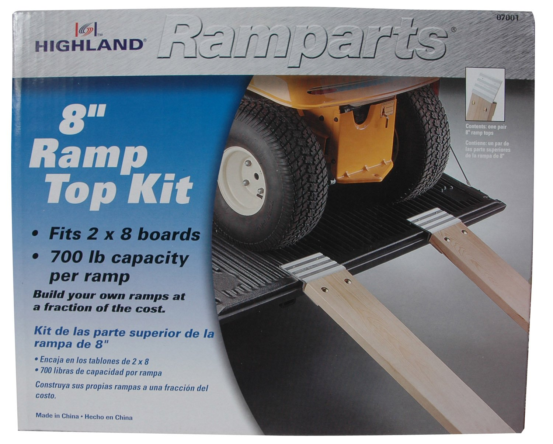 2 Piece Highland Ramparts 8 Aluminum Ramp Top Kit 0700100