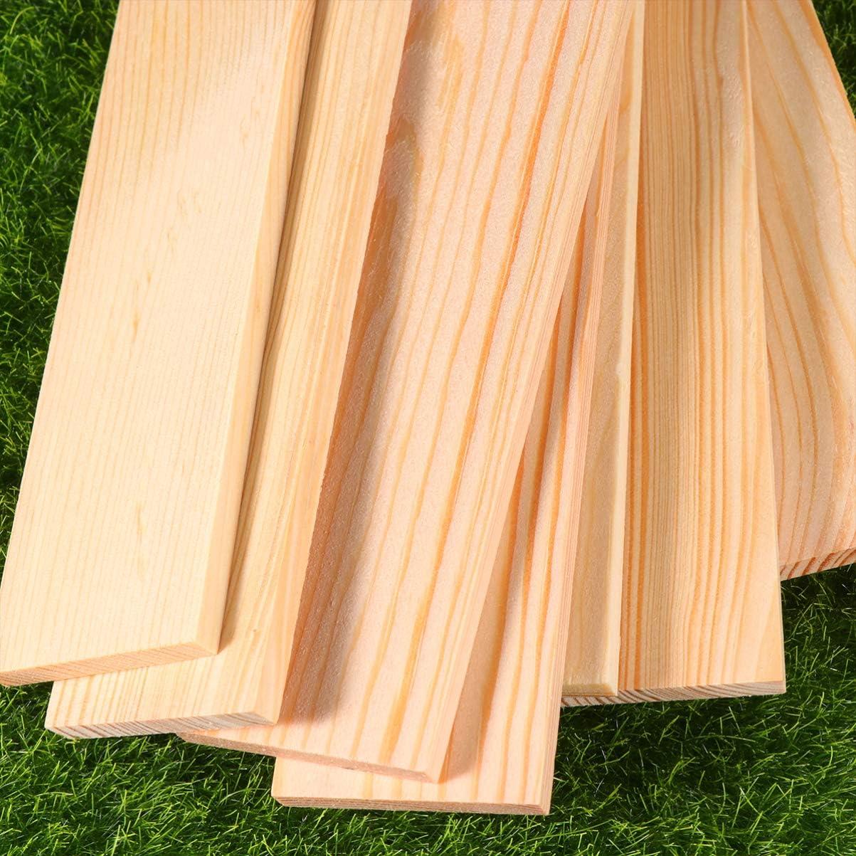 Healifty 40 piezas de placas de madera sin terminar tableros de madera para principiantes bloques de tallado artesan/ías de bricolaje accesorio de arte-5x4 cm
