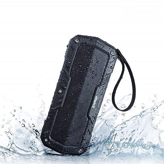 Envent LiveFree 530 ET BTSP530 Wireless Portable Bluetooth Speaker: Envent LiveFree 530  Black   Blue  Bluetooth Speakers