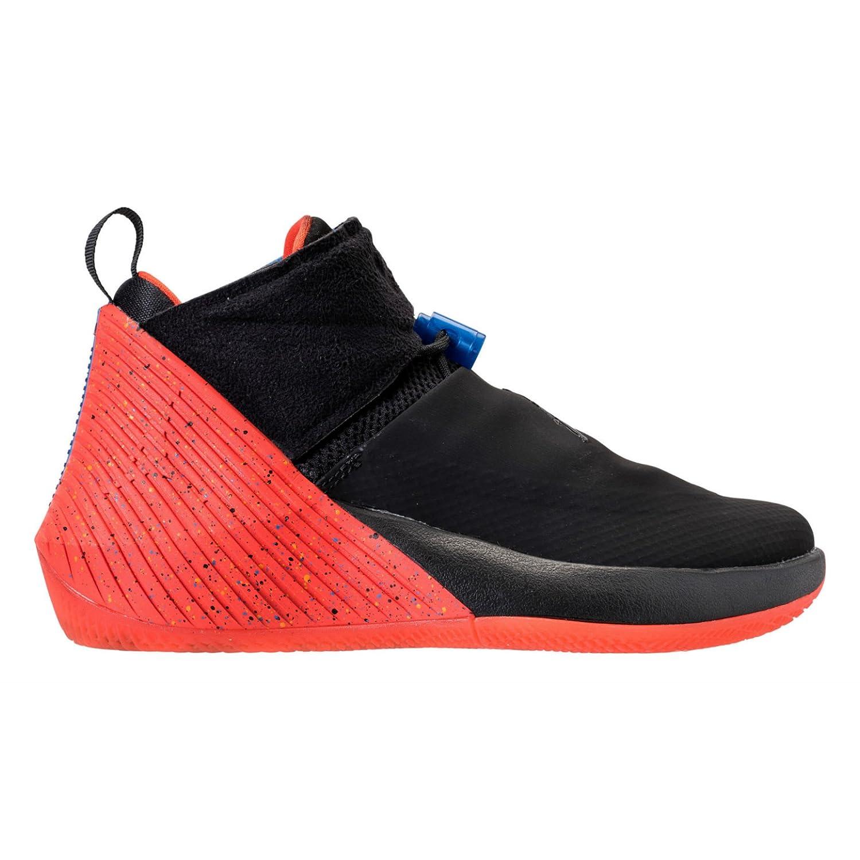 Black Black-signal bluee-team orange Jordan Nike Men's Why Not Zer0.1 Basketball shoes