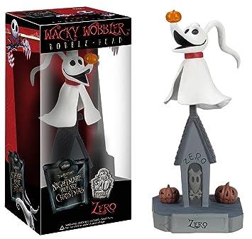 Amazon.com: Funko Nightmare Before Christmas Zero Wacky Wobbler ...