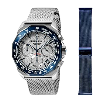 Perry Ellis 09007-04#MB104 - Reloj analógico de Cuarzo para Hombre ...