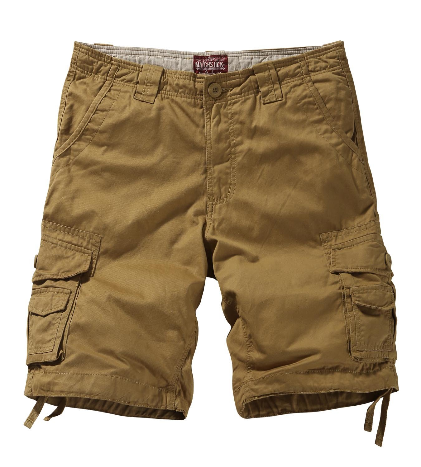Match Men's Twill Comfort Cargo Short Without Belt #S3612 (Label size 3XL/38 (US 36), Khaki)