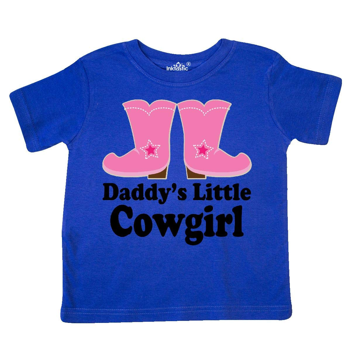 inktastic Daddys Little Cowgirl Toddler T-Shirt