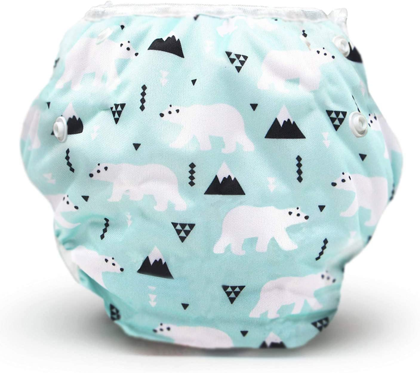 Storeofbaby Reusable Swim Nappies for Unisex Baby Adjustable Swimming Pants 0-3 Years
