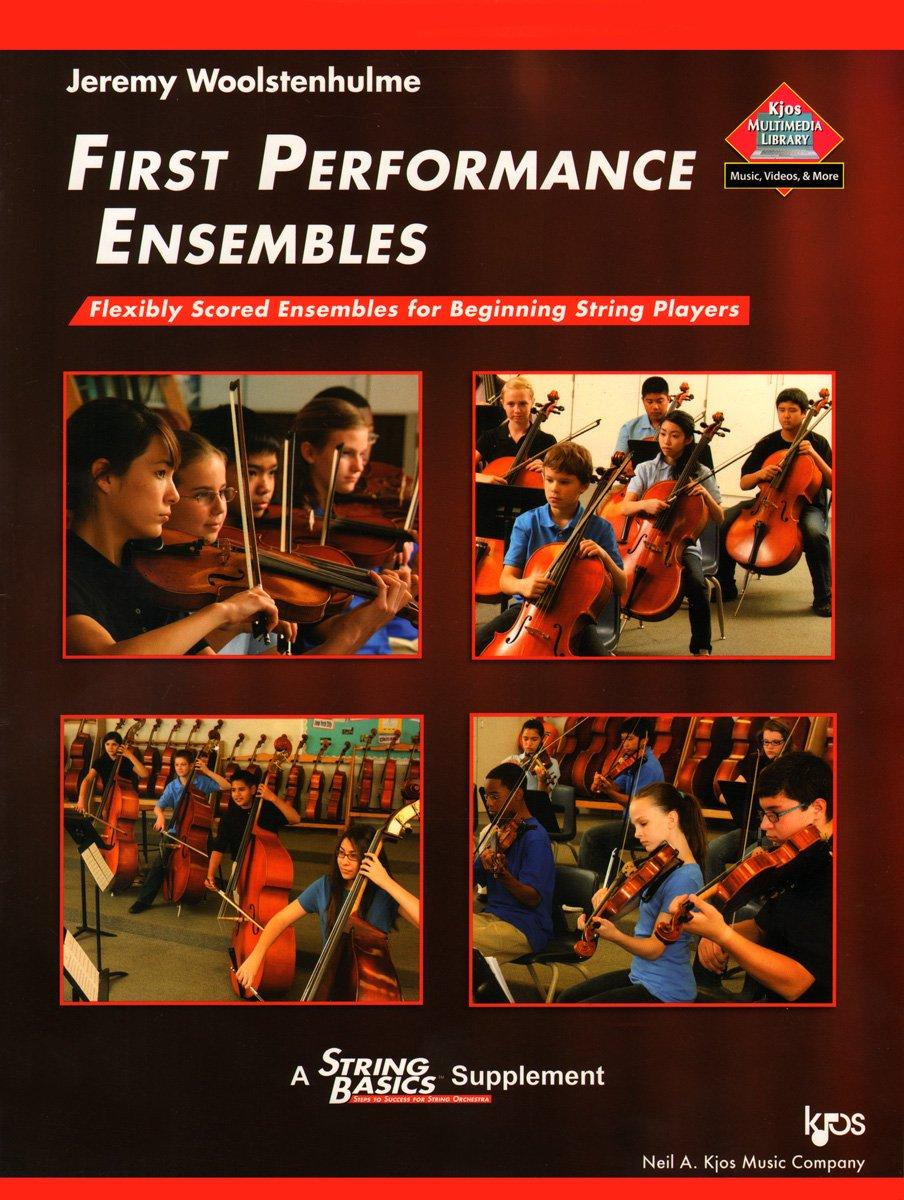 Download 119SB - First Performance Ensembles - Book 1 - String Bass PDF
