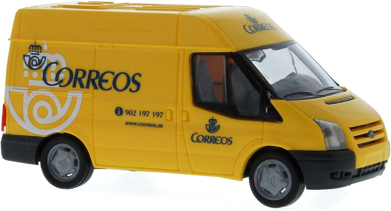 Rietze 31512 Ford Transit Kasten 06 Correos (es) Modelo de Coche: Amazon.es: Juguetes y juegos