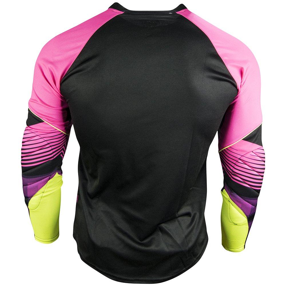 Rinat Bellator - Jersey de Portero, Unisex, Rosa/Negro / Neón, Talla M: Amazon.es: Deportes y aire libre