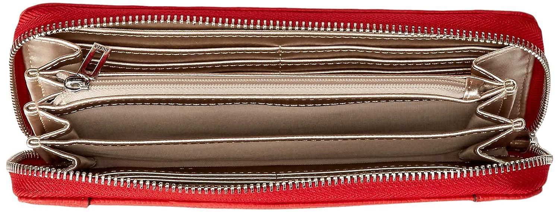GUESS Shawna Lizard Large Zip Around Wallet