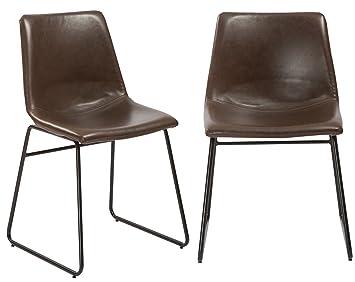 BTExpert Nura - Juego de 2 sillas de Comedor para tapicería ...