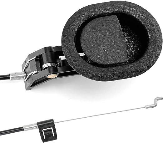 Amazon.com: Universal Oval Negro Plástico Sofá Silla ...