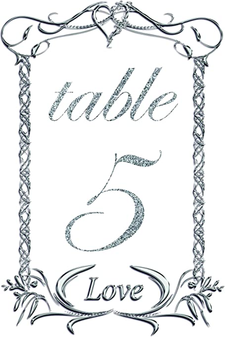 Tarjeta de número de mesa con diseño de cuadros decorativos, tamaño individual, 10 x 15 cm. Tarjeta de mesa incluida. Pack 40 negro: Amazon.es: Hogar