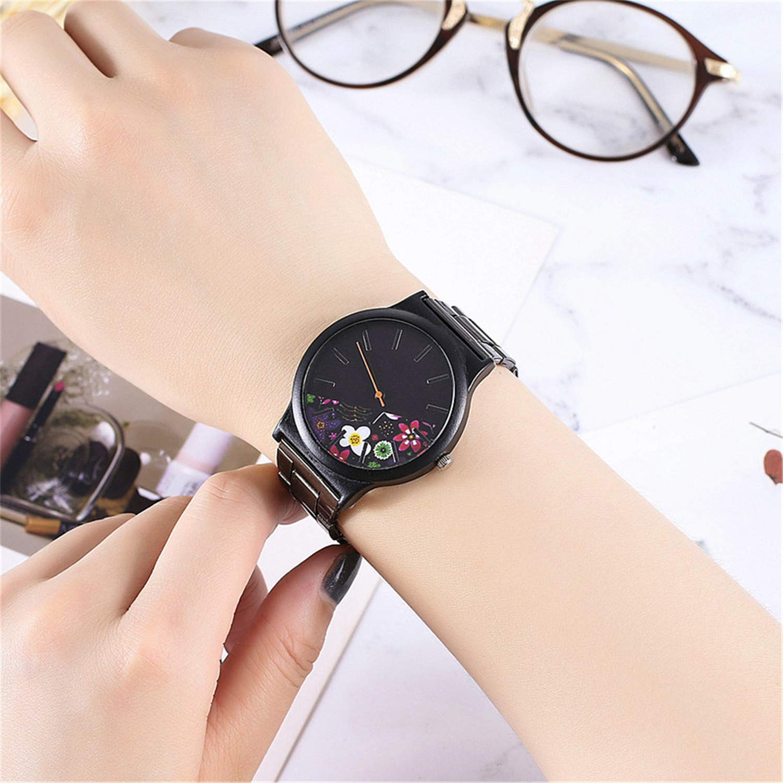 Amazon.com : liberalism Vintage Women Bracelet Watches Casual Ladies Quartz Stainless Steel Analog Wrist Watch Gift Clock Reloj Mujer Pulsera(D, ...