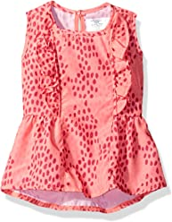 OFFCORSS Toddler Girl Summer Swimming Suit Cover up UV Protection Beach Dress