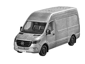 MB Mercedes Benz Sprinter, buzón de Carro, Rugged Edition Color Plateado, NOREV, 1: 18. Unidades limitadas.: Amazon.es: Coche y moto